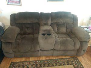 Double Reclining Love Seat for Sale in Phoenix, AZ