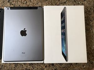 iPad Air 128gb space gray AT&T MF015LL/A for Sale in Encinitas, CA
