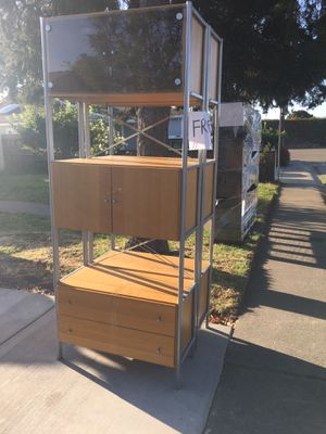 Free bookshelves- moving and just to big to take with us- all IKEA furniture for Sale in Hayward, CA