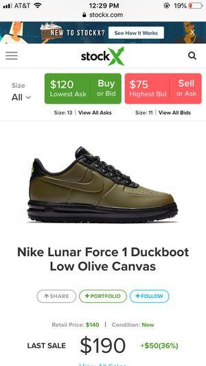 Nike lunar force 1 great deal! Sale for Sale in Lorton, VA