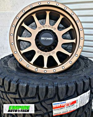 OFF ROAD WHEELS AND TIRES. PAYMENT OPTIONS for Sale in Santa Ana, CA