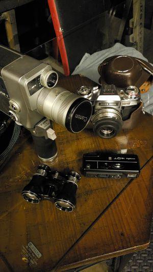 ANTIQUE camera, binoculars for Sale in San Jose, CA