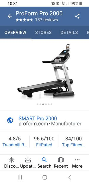 Proform Treadmill for Sale in Silsbee, TX
