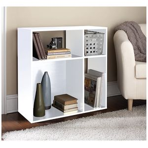 Asymmetrical Cube Storage, White for Sale in Quincy, MA