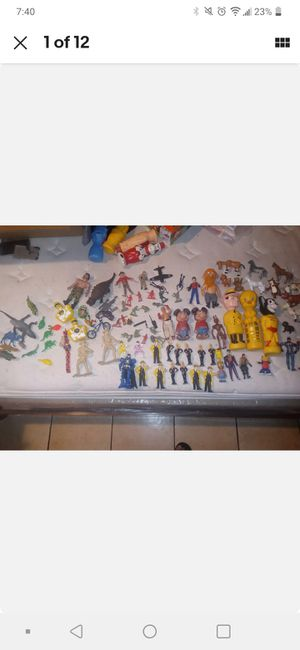 Lot Of toys/action/Figures/mixed Vtg/ Vtg soap bottles for Sale in Turlock, CA