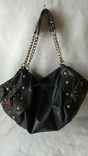 KATE LANDRY Black Leather Hobo Bag for Sale in St. Louis, MO