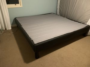 Bed Frame (King Size) for Sale in Canyon, CA