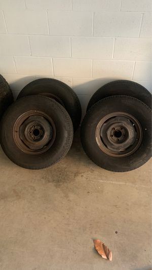 15 inch trailer tires for Sale in South Pasadena, CA