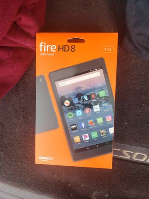 Amazon 16gb HD8 fire tablet for Sale in Malden, MA