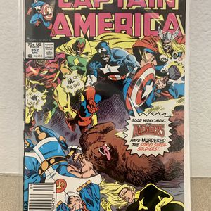 CAPTAIN AMERICA #352 (1989) Speedball, Soviet Super Soldiers, Battlestar for Sale in San Diego, CA