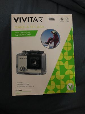 Vivitar action waterproof camera for Sale in Queens, NY