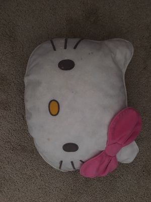 Hello kitty pillow used for Sale in Denver, CO
