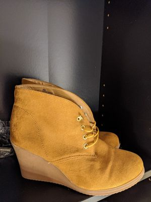 Wedge Boots size 8 for Sale in Rancho Cucamonga, CA