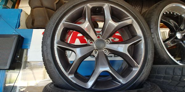 20x8 Dodge Charger Wheels