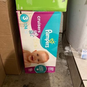 Pampers Size 3 for Sale in Glendora, CA
