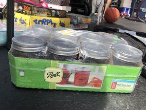 Mason Jar Set 12 piece for Sale in South Elgin, IL