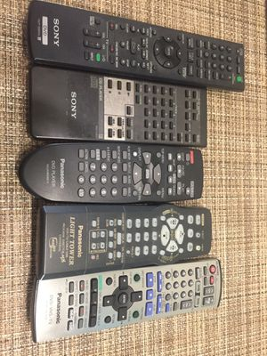 Tv and dvd remote control for Sale in Miami, FL