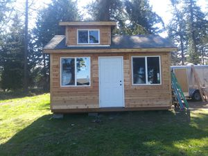 12x16 cedar shed with dormer and 6x12 loft in dormer for Sale in Federal Way, WA