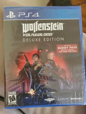 Wolfenstein ps4 for Sale in St. Louis, MO
