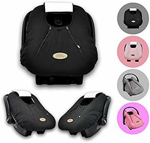 Cozy Cover Infant Car Seat Cover (Black for Sale in Riverside, CA