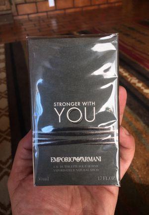 GIORGIO ARMANI Stronger With You 1.7oz for Sale in Stockton, CA
