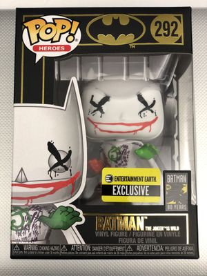 Funko Pop! Batman The Joker is Wild #292 Entertainment Earth Exclusive for Sale in Whittier, CA