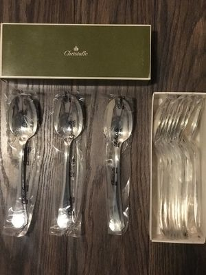 12 Silver-Plated Spoons. Christofle. America Collection. NEW. for Sale in Alexandria, VA