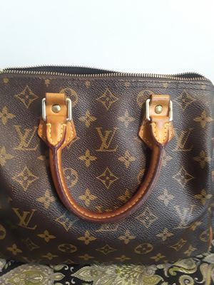 Brown Louis Vuitton Speedy Handbag for Sale in Strongsville, OH