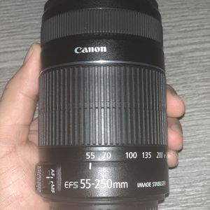 Canon EFS 55-250mm Lens for Sale in Fort Lauderdale, FL