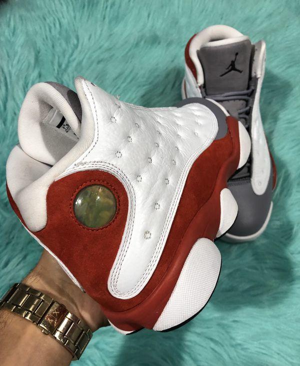 Air Jordan Retro 13 'Grey Toe' Size 7.5