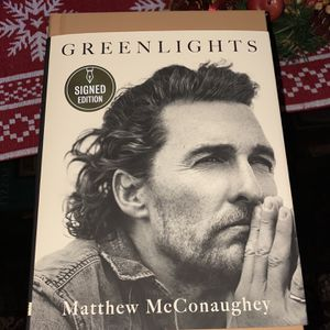 Greenlights Matthew McConaughey Signed and Autographed Edition Hardcover for Sale in Cerritos, CA