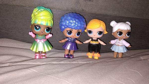 4 LOL Suprize Dolls ♡♡♡♡