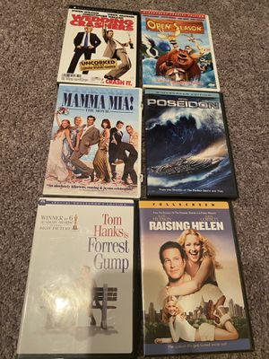 DVDs 2 for $6 or $4 each for Sale in MAGNOLIA SQUARE, FL