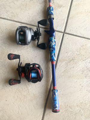 FISHING ROD/ REELS * read description for Sale in Lutz, FL