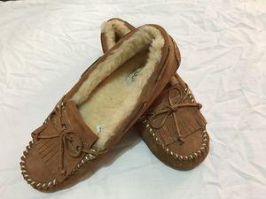 *NEW* UGG Australia Women's Dakota Moccasin Slipper SZ 9 Brown for Sale for sale  Brooklyn, NY