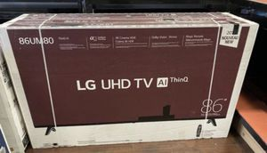 🔥🔥86 INCH LG HDR 4K SMART TV for Sale in Grand Terrace, CA