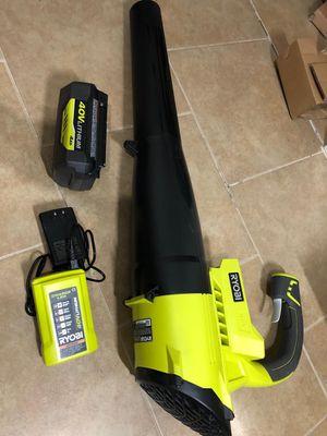 Ryobi 40v blower kit for Sale in Dallas, TX