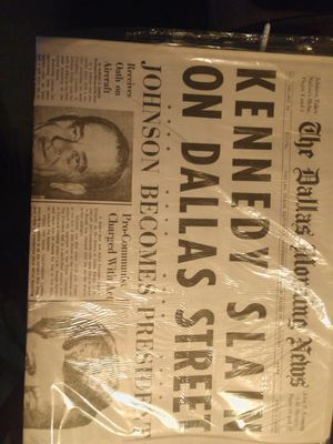 JFK USA today paper Nov 23 1963 the day after he died for Sale in Takoma Park, MD
