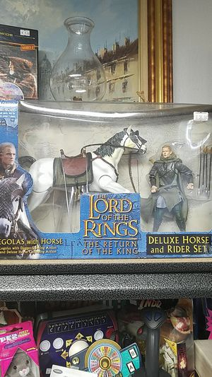 Lord of the Rings Legolas with Horse Action Figure set NEW for Sale in Port Charlotte, FL