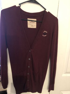 Hollister cardigan -small for Sale in Tampa, FL