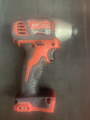 milwaukee 1/4 HEX impact driver for Sale in Tucson, AZ