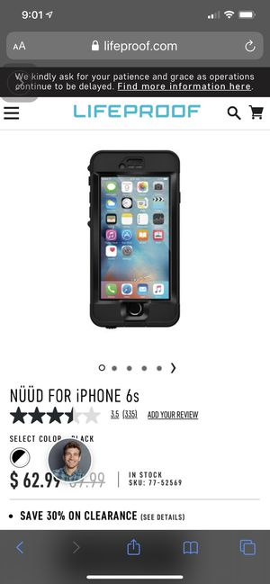Lifeproof Nüüd iPhone 6/6s Cases for Sale in Tacoma, WA