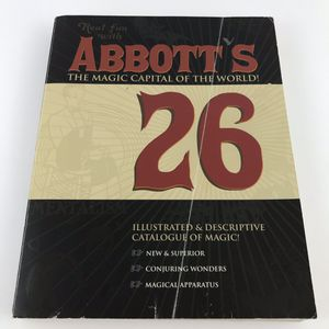 Abbott's The Magic Capital of the World Catalogue Illustrated & Descriptive #26 for Sale in Newport Beach, CA