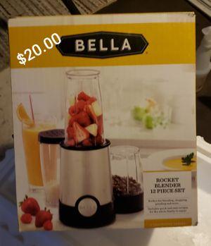 Bella rocket blender 12P set for Sale in Fountain Valley, CA