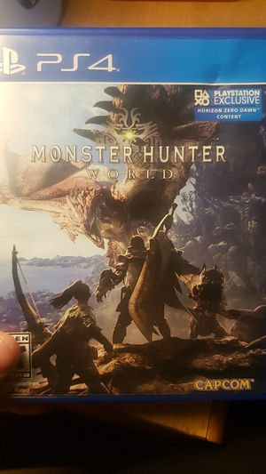 Kingdom Hearts 3 and Monster Hunter for Sale in San Diego, CA