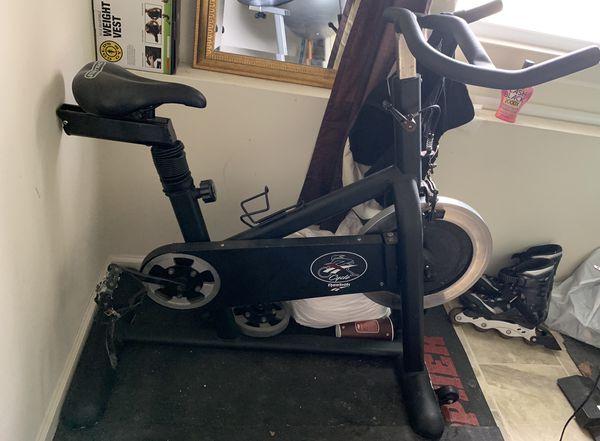Reebok spin bike