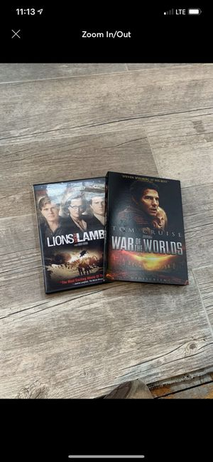 Tom Cruise DVD's for Sale in East Providence, RI