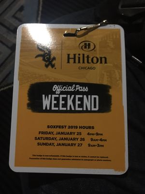White Sox Fest Kids Weekend Pass for Sale in Chicago, IL