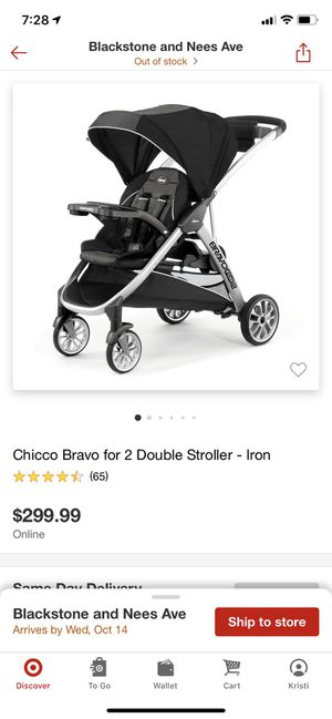 Chicco Bravo for 2 Double Stroller for Sale in Fresno, CA