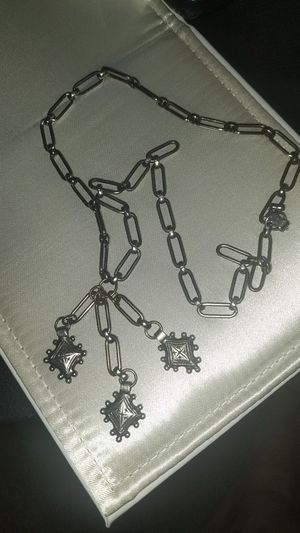 Antique chain with pendant , very old and aged very collectible for Sale in San Leandro, CA
